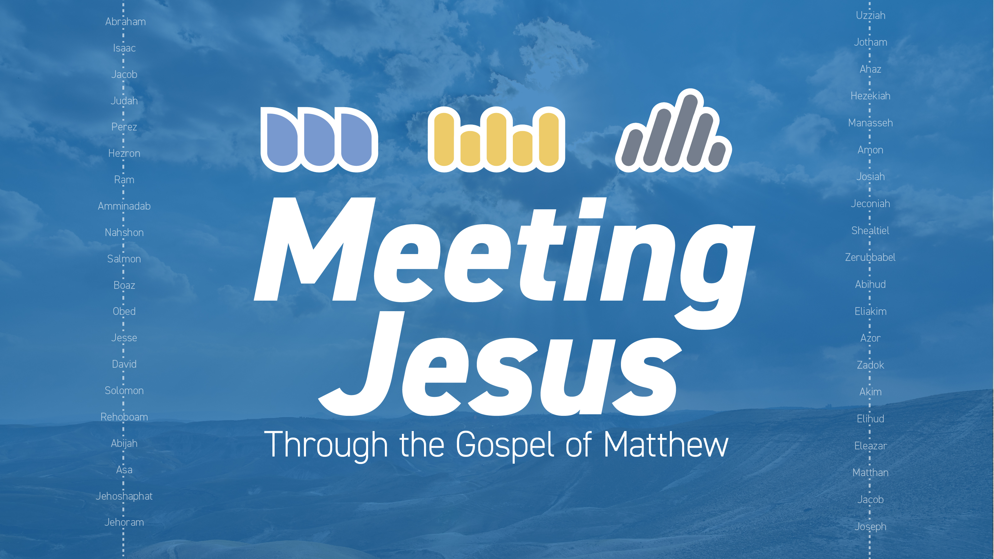 Meeting Jesus Through the Book of Matthew